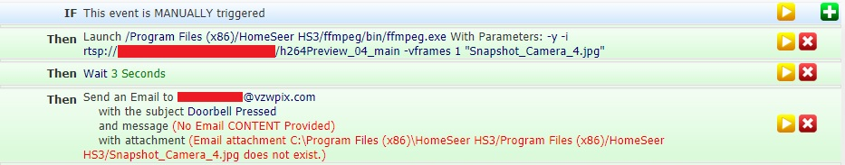 Snap image from RTSP security camera stream using FFMPEG? - HomeSeer