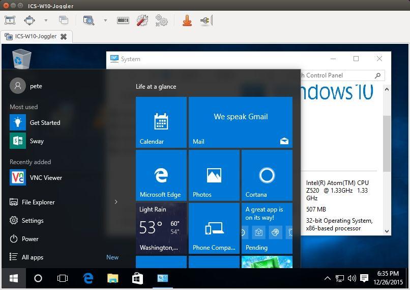 Jogglers running Windows 10 32 bit - HomeSeer Message Board