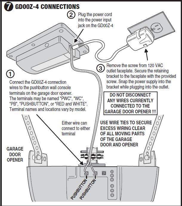 replaced garage door opener