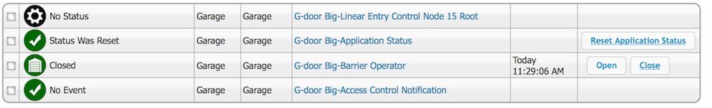 Openclose Status On Gocontrollinear Garage Door Controller Gd00z 4