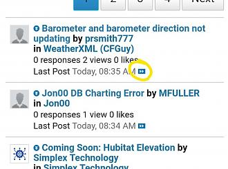 Forum on Android phone / Chrome browser - HomeSeer Message Board